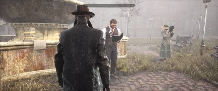 After a short conversation, you will receive a task to find three books - Assigned Reading | The Sinking City walkthrough - Side cases - The Sinking City Guide