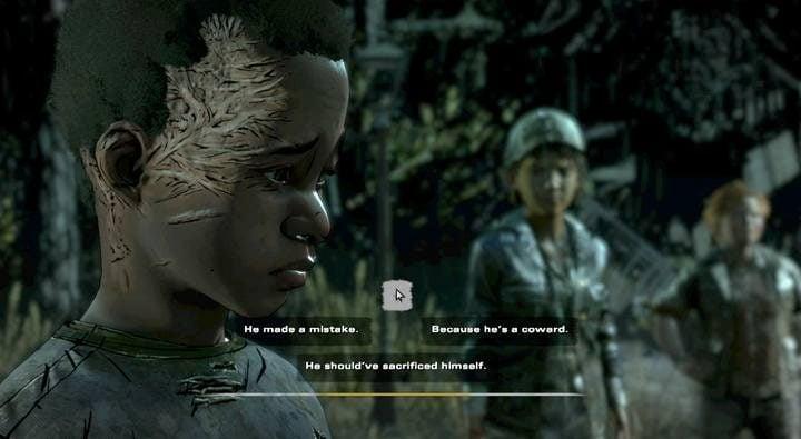 Гайд и прохождение The Walking Dead The Final Season – что выбрать в диалогах, влияние на концовки игры
