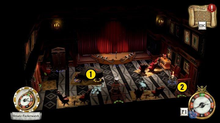 There is a key [1] lying on the piano, which you should definitely pick up - Save Tequila | Tequila Belle - Tequila Belle - The Sexy Brutale Game Guide