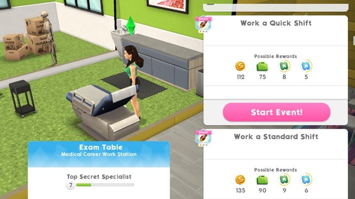 Career in The Sims Mobile - The Sims Mobile Game Guide