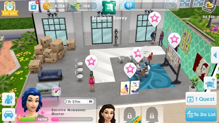 The sims mobile offline