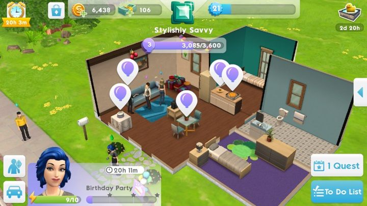 cheats on sims mobile