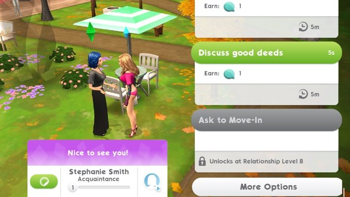 Moving Out | The life of a Sim - The Sims Mobile Game Guide