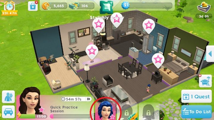 how to get the sims mobile