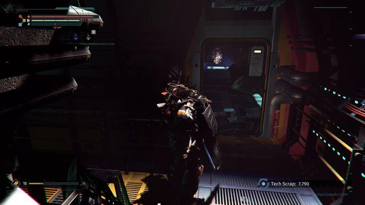 Deal with some enemies (including a drone) and get to the other part of the room - Research Zone | Walkthrough - Walkthrough - The Surge Game Guide