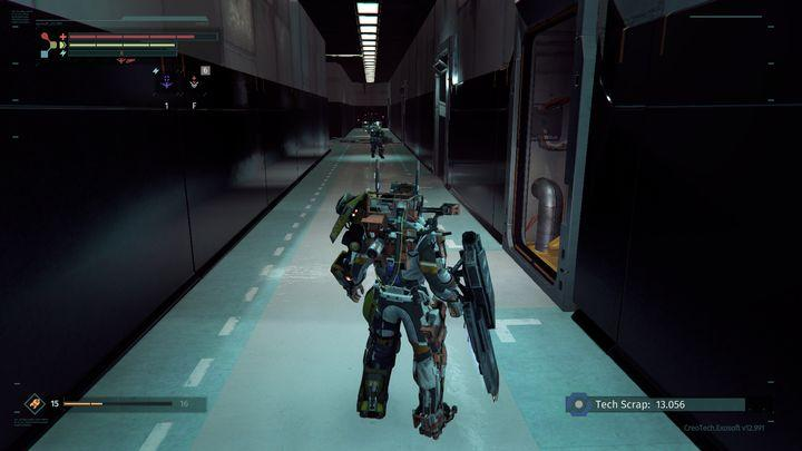 Access the restricted zone, avoid or defeat the first opponent and move forward - Research Zone | Walkthrough - Walkthrough - The Surge Game Guide