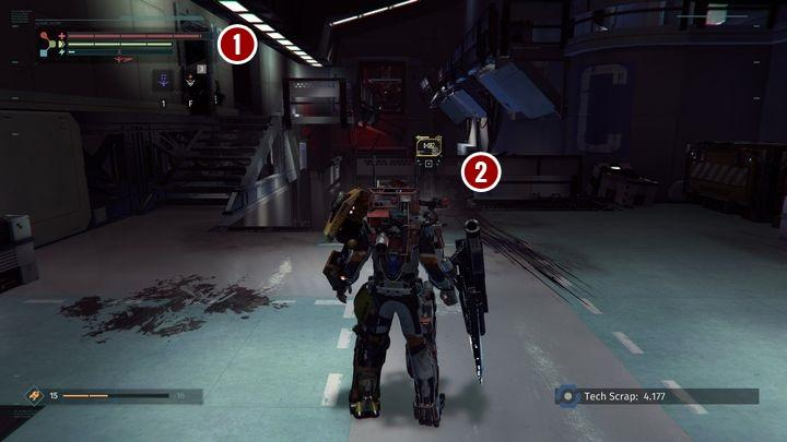 You will get to a place presented in the screenshot - Research Zone | Walkthrough - Walkthrough - The Surge Game Guide
