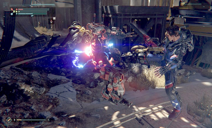 Combat scenes look impressive, especially during an execution - Combat tips for The Surge - Advice - The Surge Game Guide