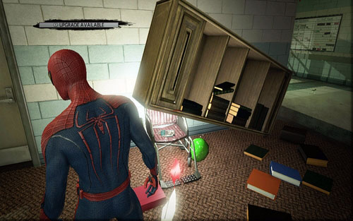 Escape impossible collectibles inside buildings the amazing spider