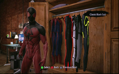 1 - Costumes list - Spider-Manu0027s costumes - The Amazing Spider-Man - & Costumes list | Spider-Manu0027s costumes - The Amazing Spider-Man Game ...