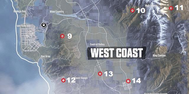 The Crew Hidden Car Parts West Coast