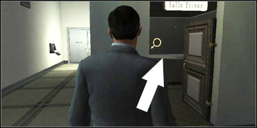 Find the Security Card Terminal in one of the corners - Bank of Zurich - Walkthrough - The Da Vinci Code - Game Guide and Walkthrough