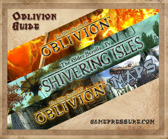 Featuring: Oblivion Game Guide, Oblivion Atlas, Knights of the Nine Game Guide and Shivering Isles Game Guide - The Elder Scrolls IV: Oblivion - Game Guide and Walkthrough