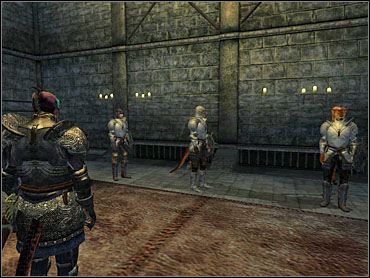Drink the potion, and you will be automatically transported to the battle site - Fighters Guild part IV - The Guilds quests - The Elder Scrolls IV: Oblivion - Game Guide and Walkthrough