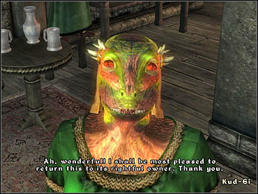 When you raise the Dunmer's disposition high enough, he'll offer you to buy the staff for 200 Gold - Mages Guild part I - The Guilds quests - The Elder Scrolls IV: Oblivion - Game Guide and Walkthrough