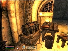 Scroll chest. - Mages Guild part III - The Guilds quests - The Elder Scrolls IV: Oblivion - Game Guide and Walkthrough