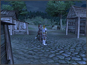The guard captain can be found somewhere around Waterfront's houses - Thieves Guild part II - The Guilds quests - The Elder Scrolls IV: Oblivion - Game Guide and Walkthrough