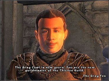 Dude, put that cowl back on. - Thieves Guild part III - The Guilds quests - The Elder Scrolls IV: Oblivion - Game Guide and Walkthrough