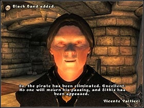 Approach the crates at the end of the pier - a message will appear, asking if you want to hide in them - Dark Brotherhood part I - The Guilds quests - The Elder Scrolls IV: Oblivion - Game Guide and Walkthrough