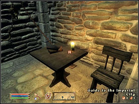 What's interesting, you don't have to leave the place using the sewers again - Dark Brotherhood part I - The Guilds quests - The Elder Scrolls IV: Oblivion - Game Guide and Walkthrough