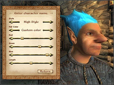 Careful with that editor, son. - Info - Character Creation & Development - The Elder Scrolls IV: Oblivion - Game Guide and Walkthrough