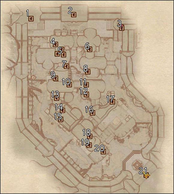1 Sacellum Arden-Sul - Crucible (C) - Maps - The Elder Scrolls IV: Oblivion - Game Guide and Walkthrough