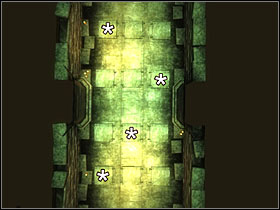 You'll see a puzzle on the floor - Wisdom of the Ages - Knights of the Nine - The Elder Scrolls IV: Oblivion - Game Guide and Walkthrough