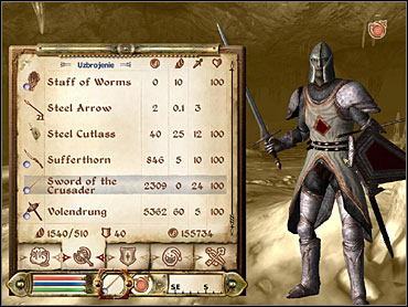 The complete Crusader's outfit. - The Faithful Squire - Knights of the Nine - The Elder Scrolls IV: Oblivion - Game Guide and Walkthrough