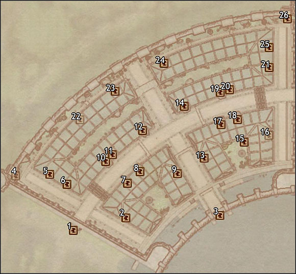 1 - Talos Plaza District - Imperial City Elven Gardens - City maps - The Elder Scrolls IV: Oblivion - Game Guide and Walkthrough