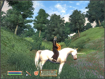 Yes, it's true, you CAN ride a unicorn in this game. - Daedric Quests part I - Other - The Elder Scrolls IV: Oblivion - Game Guide and Walkthrough