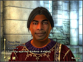 Only another city guard captain can do something about Avidius' crimes - Imperial City - Miscellaneous quests - The Elder Scrolls IV: Oblivion - Game Guide and Walkthrough