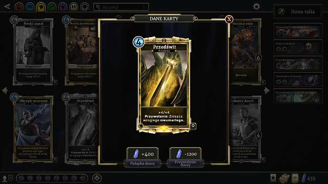 Select Soul Sight from your card collection and you will be able to create new cards, or retrieve souls from cards that you dont want or need - Rules and tips for beginners - The basics - The Elder Scrolls: Legends Game Guide