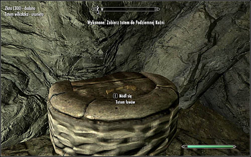 Do as she suggests and return to Whiterun and enter the Underforge - Totems of Hircine - The Companions quests - The Elder Scrolls V: Skyrim Game Guide