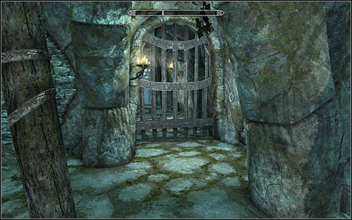 An exit from the last tombs chamber is located in its eastern part (screen above) - Glory of the Dead - p. 3 - The Companions quests - The Elder Scrolls V: Skyrim Game Guide