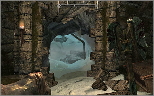 Open the door to the next room and deal with a group of opponents there - Purity of Revenge - The Companions quests - The Elder Scrolls V: Skyrim Game Guide