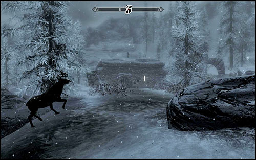 The Silver Hand headquarter youre looking for is located at the higher mountain (screen above) and after reaching this place you should deal with all local werewolf hunters - Purity of Revenge - The Companions quests - The Elder Scrolls V: Skyrim Game Guide
