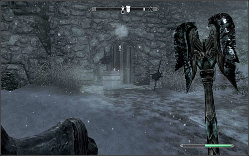 If you want to eliminate werewolf hunters in a traditional way, that before doing any actions don't forget to put on all armor elements and weapons used before - The Silver Hand - The Companions quests - The Elder Scrolls V: Skyrim - Game Guide and Walkthrough