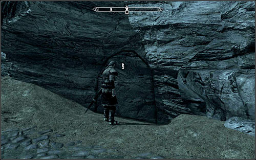 Use the same hidden rock passage as Skjor (screen above), getting to the Underforge - The Silver Hand - The Companions quests - The Elder Scrolls V: Skyrim - Game Guide and Walkthrough