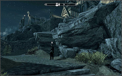 Leave Jorrvaskr and in accordance to Skjor's request, wait for the night using sleep option if needed or speeding up the time - The Silver Hand - The Companions quests - The Elder Scrolls V: Skyrim - Game Guide and Walkthrough