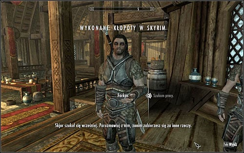 In order to activate this quest, you have to complete major quest Proving Honor and then at least one of sidequests ordered by Farkas, Aela, Vilkas or Skjor - The Silver Hand - The Companions quests - The Elder Scrolls V: Skyrim Game Guide