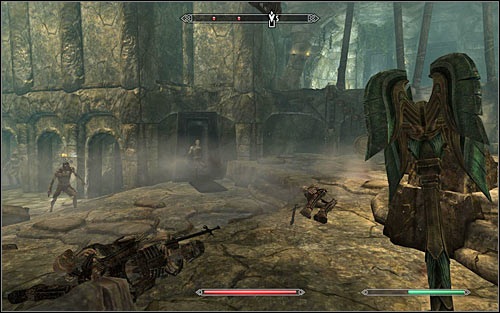 As youve probably guessed, draugr begin rising from side tombs (screen above) - Proving Honor - p. 2 - The Companions quests - The Elder Scrolls V: Skyrim Game Guide