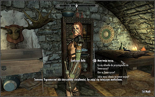 Return to the sanctuary - Take up Arms - The Companions quests - The Elder Scrolls V: Skyrim Game Guide