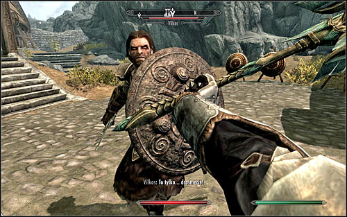 Follow Vilkas - Take up Arms - The Companions quests - The Elder Scrolls V: Skyrim Game Guide