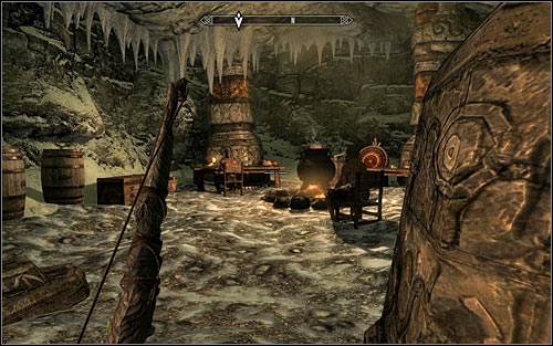 After a while you should reach a second bandits encampment (screen above) and you should watch out here, because both opponents here have magical abilities - Side Contract: Kill Maluril - The Dark Brotherhood quests - The Elder Scrolls V: Skyrim Game Guide