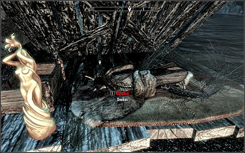 I strongly recommend waiting for the night, because Deekus should go to sleep then - Side Contract: Kill Deekus - The Dark Brotherhood quests - The Elder Scrolls V: Skyrim Game Guide