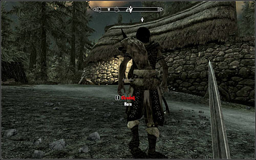 Most sensible solution is to eliminate Hert when he is outside the hut - Side Contract: Kill Hern - The Dark Brotherhood quests - The Elder Scrolls V: Skyrim Game Guide