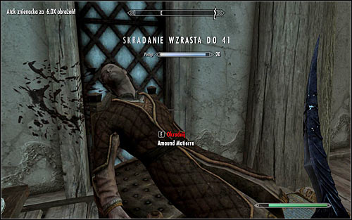 You can now fulfill last emperors wish and decide to murder Amaund Motierre - Hail Sithis! - p. 2 - The Dark Brotherhood quests - The Elder Scrolls V: Skyrim Game Guide
