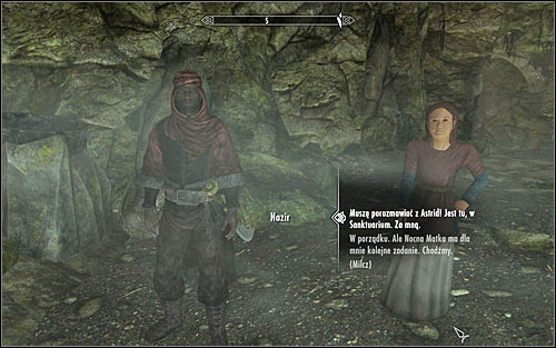 First you have to talk to only surviving members of the Brotherhood, Nazir and Babette (screen above) - Death Incarnate - The Dark Brotherhood quests - The Elder Scrolls V: Skyrim Game Guide