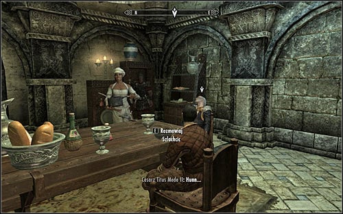 If youve poisoned the emperors soup, you should wait until Gianna puts a pot down and the emperor starts tasting the dish prepared by Gourmet (screen above) - To Kill an Empire - The Dark Brotherhood quests - The Elder Scrolls V: Skyrim Game Guide