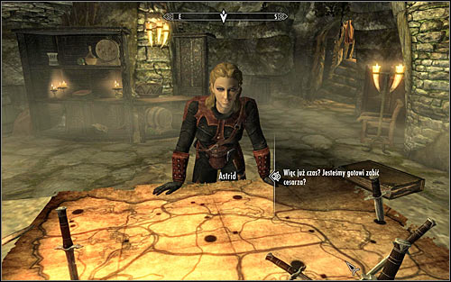 Return to Astrid and ask her about details of the most important contract (screen above) - To Kill an Empire - The Dark Brotherhood quests - The Elder Scrolls V: Skyrim Game Guide